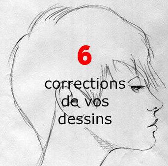6 corrections de dessins