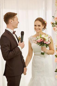 """Клятва жениха и невесты на выездной церемонии. Студия торжеств """"ДИНАСТИЯ"""""""