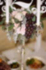 """Оформление гостевых столов на свадьбу. Студия торжеств """"ДИНАСТИЯ"""""""