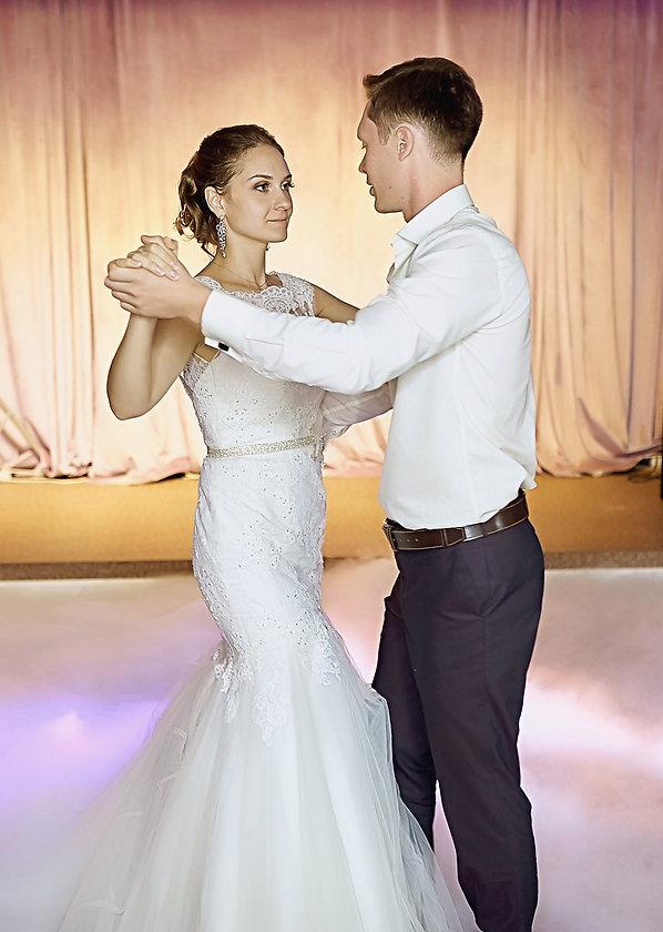 """Красивый свадебный танец молодоженов. Студия торжеств """"ДИНАСТИЯ"""""""