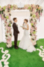"""Эмоции жениха и невесты на церемонии бракосочетания. Студия торжеств """"ДИНАСТИЯ"""""""