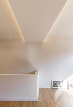 falso techo ocultando viga