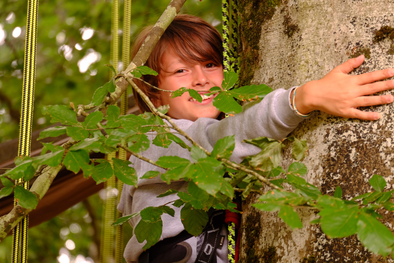 Grimpe d'arbres Ariège
