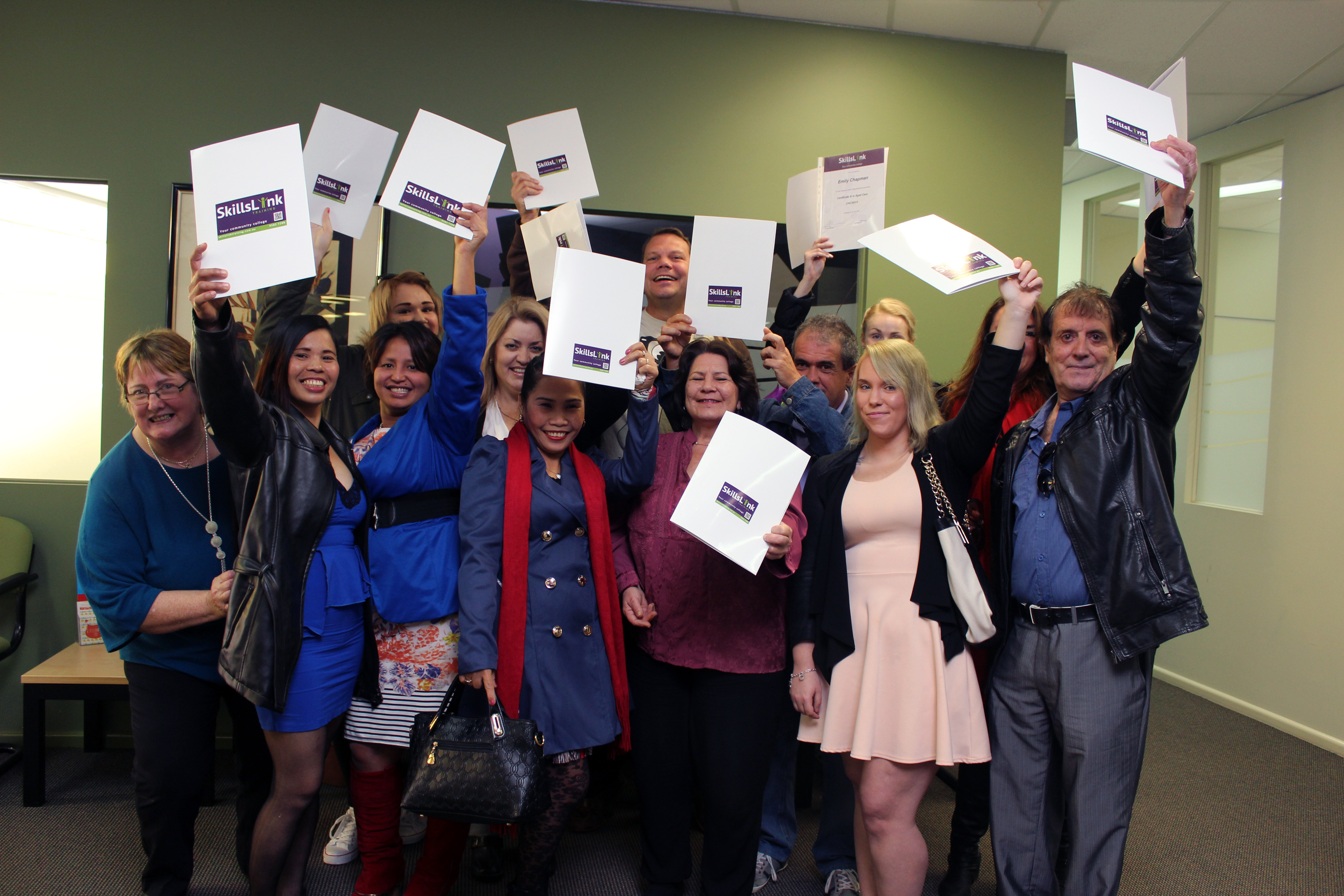 Aged Care Graduation 2015-Group-Yay