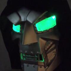 Dr. Doom with LED Lenses