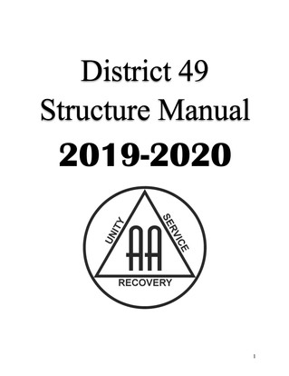 District 49 Structure Manual