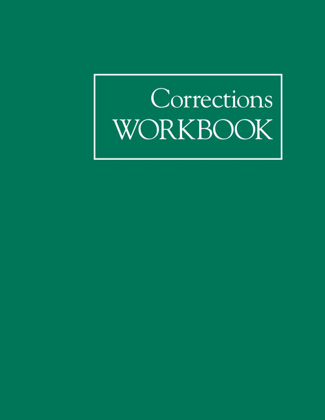 A.A. Corrections Workbook