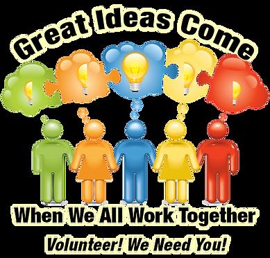 Volunteer! We Need You!