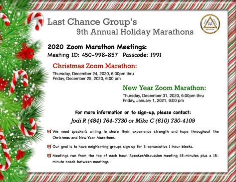 Last Chance Group 2020 Marathon