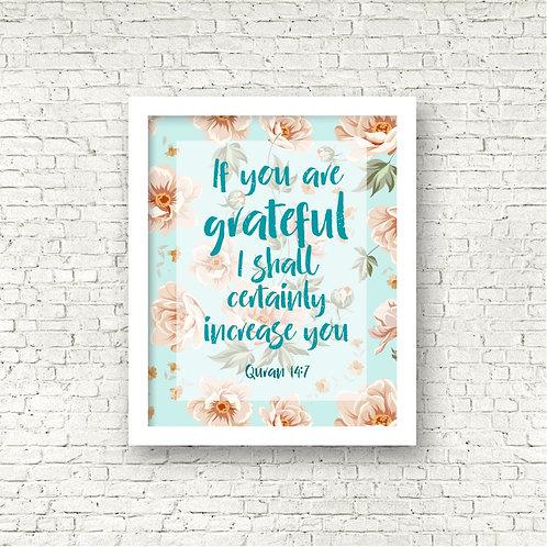 Grateful Print