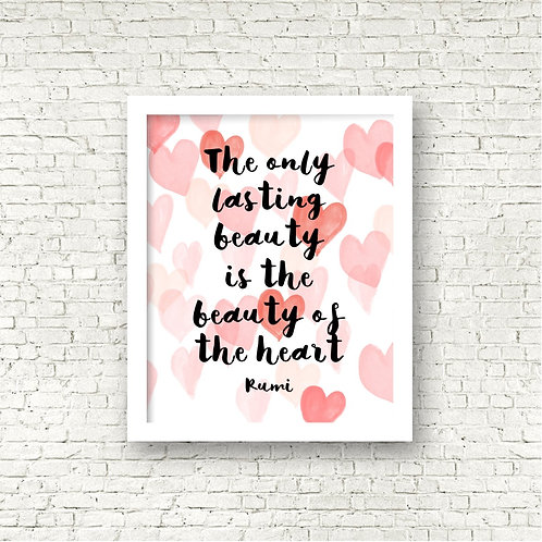 Beauty of the Heart Print