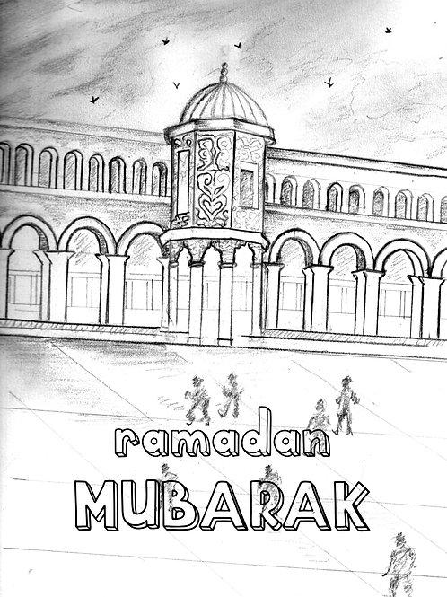 Digial Ramadan ColourMe card