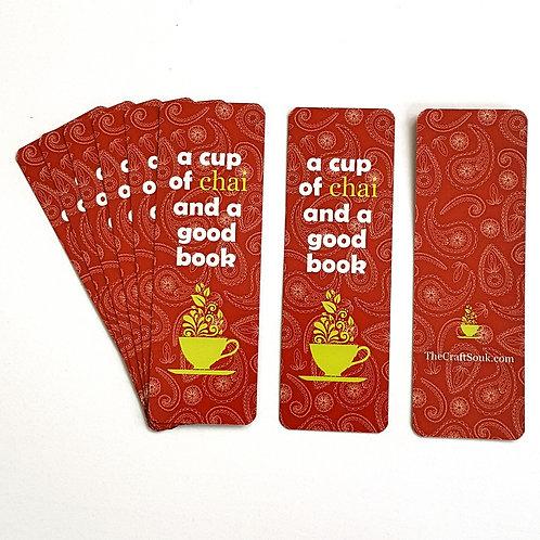 Paisley Chai Bookmark