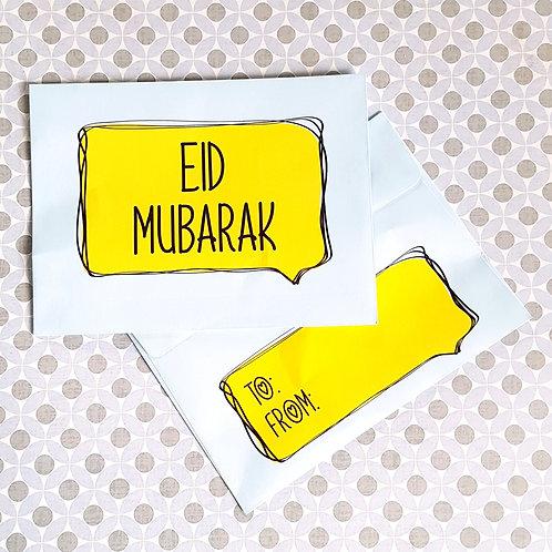 Comic Eidi Envelopes