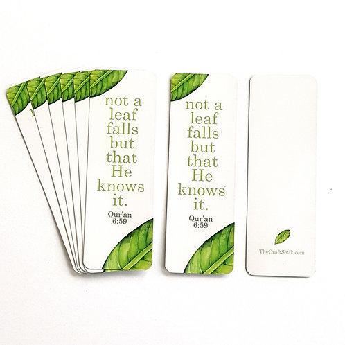 Leaf Bookmarks