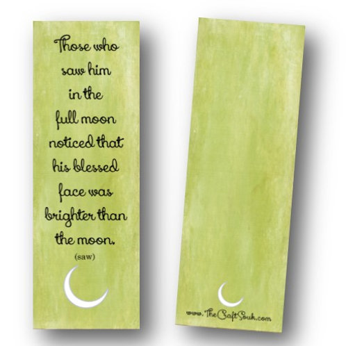 Moon Bookmarks
