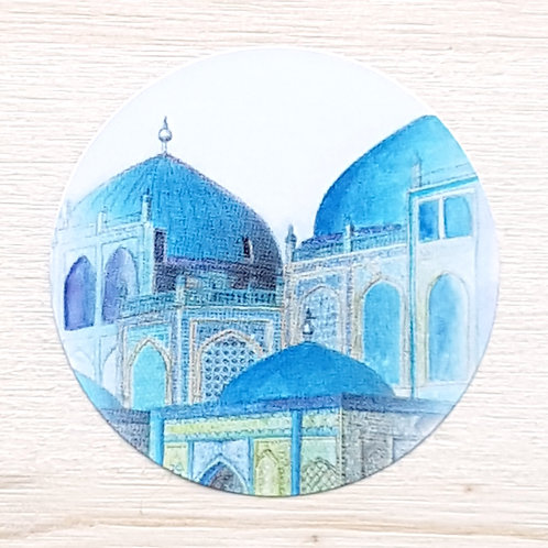 Blue Mosque Stickers
