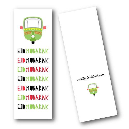 Eid Rikshaw Bookmarks