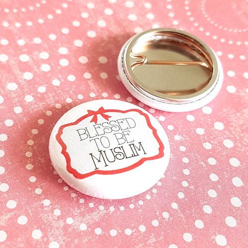 Blessed Pinback Buttons