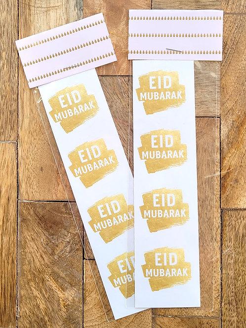 Gold Eid Sticker Pack