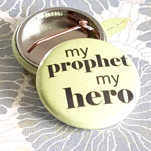 Prophet Pinback Buttons
