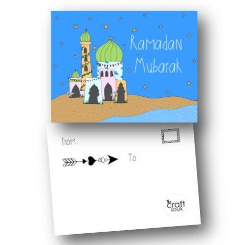 Pack of 10 Ramadan Postcards