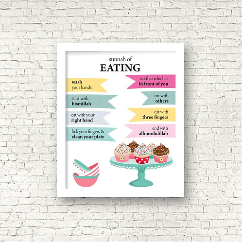 Sunnah of Eating Print