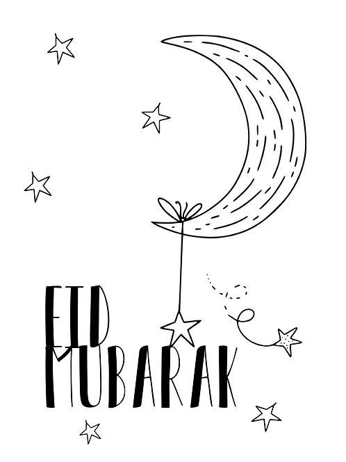 Digial Eid ColourMe card