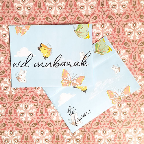 Butterfly Eidi Envelopes