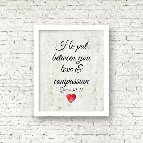 Love & Mercy Art Print