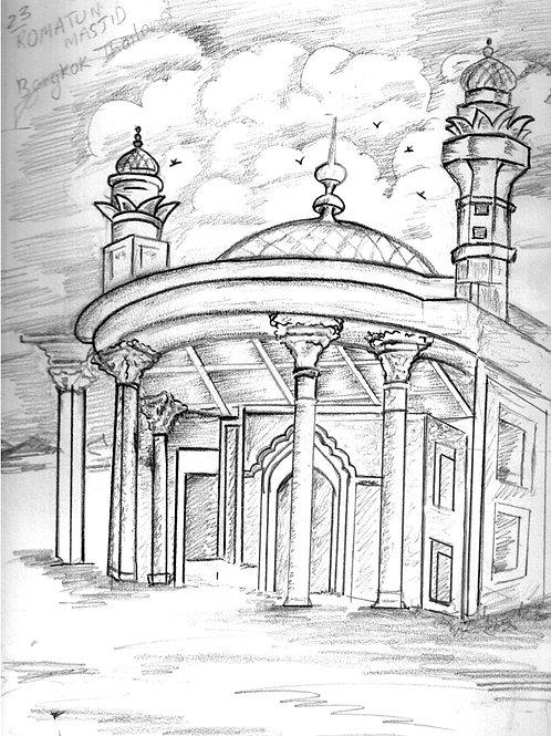 Digial Masjid ColourMe card