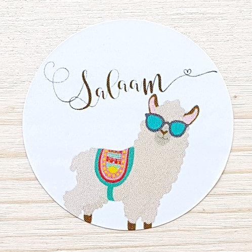 Salaam Lama Stickers