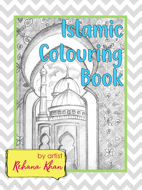 Islamic Colouring Book