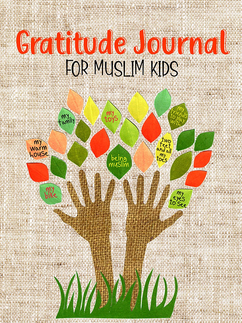 Gratitude Journal for Muslim Kids