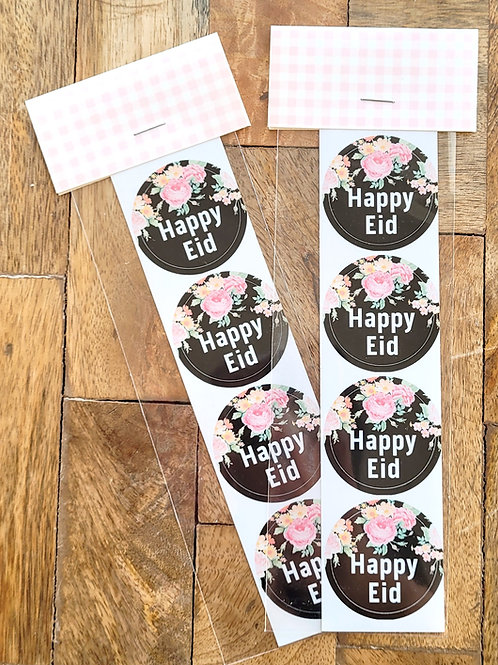 Pink Roses Eid Sticker Pack