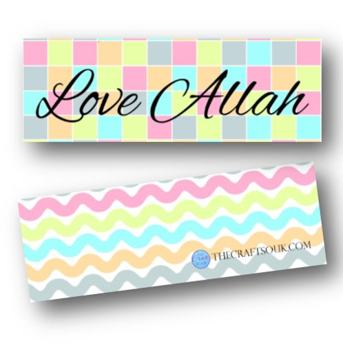 Love Allah Bookmarks
