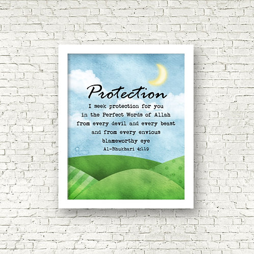Valley Protection Art Print