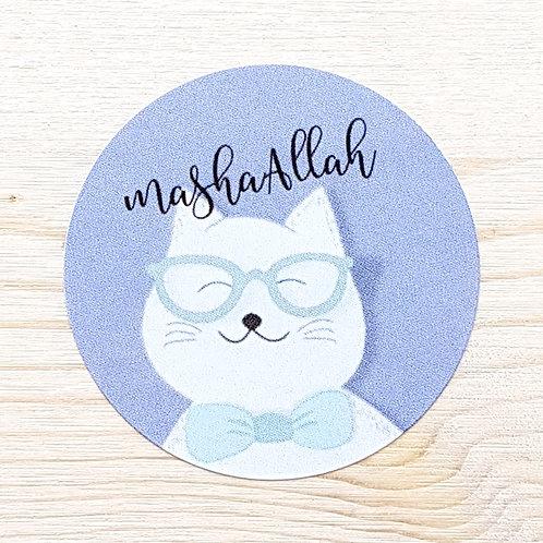MashaAllah Cat Stickers