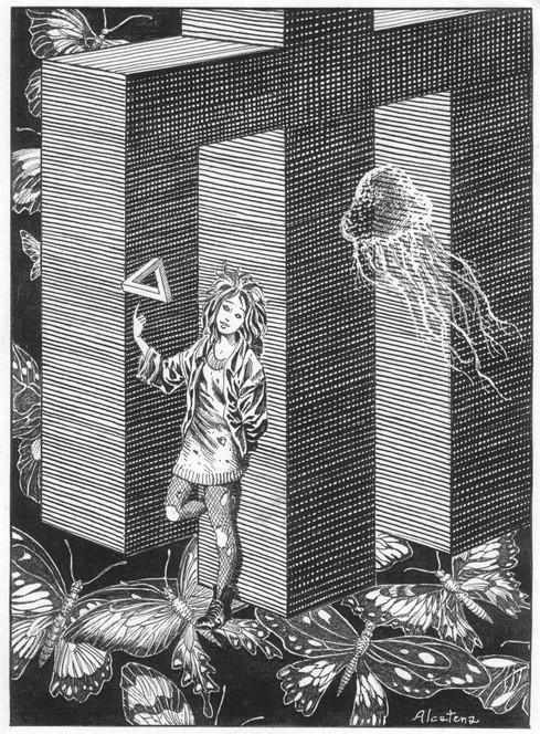 Delirio, ilustrada por Quique Alcatena (clic para abrir)