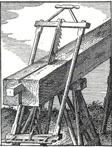 Scie (gravure)