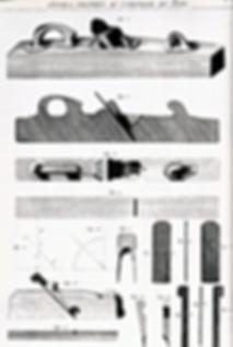 Planche de Roubo | Varlope