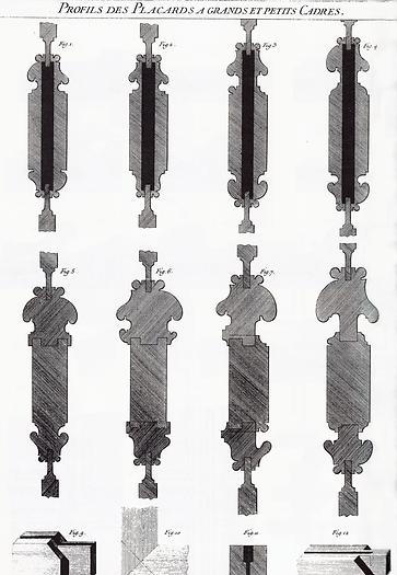 Planche de Roubo | Petit cadre