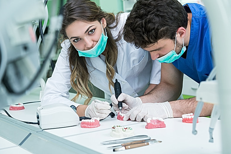 Perth Dental Laboratory Technicians at work