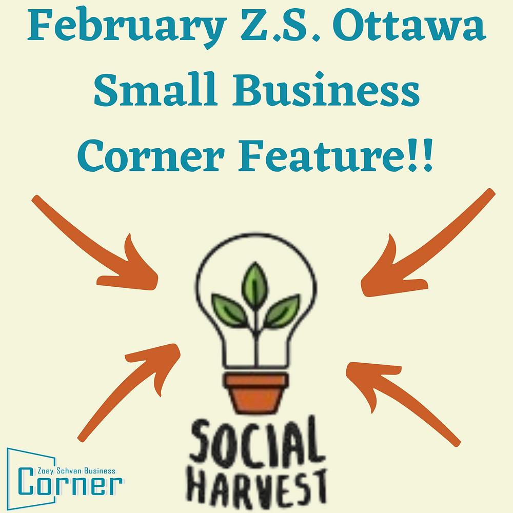Social Harvest Ottawa Logo