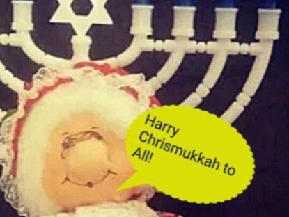 Harry Chrismukkah To All!