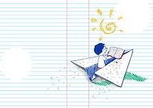 Ilustração digital | Boletim de avaliação SAEPI [CAEd/2012]