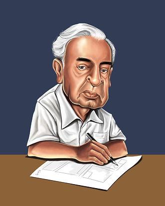 Pedro Nava caricatura [Exposição Transnaviana]
