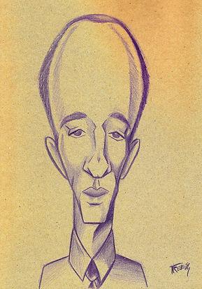 Murilo Mendes caricatura novo