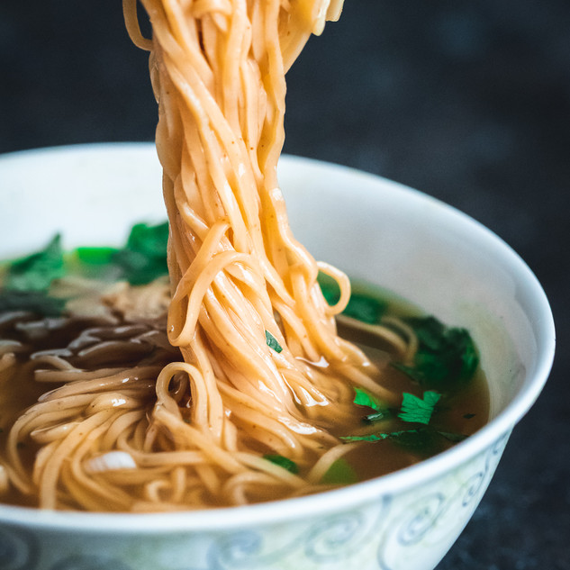 Astaxinthin Noodles for Ceco International