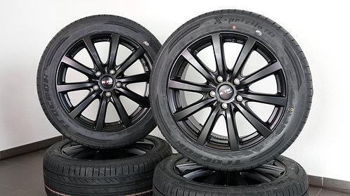 4x Sommer Kompletträder 18 Zoll mit Tracmax Reifen